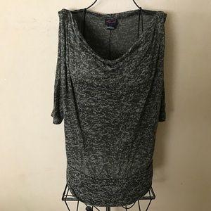 🎉Torrid knit fashion top size 1X cute look🎉